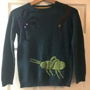 Mini boden sweater inspired by Ronald Dahl